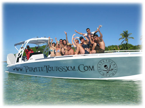 Pirate Tours Saint Maarten